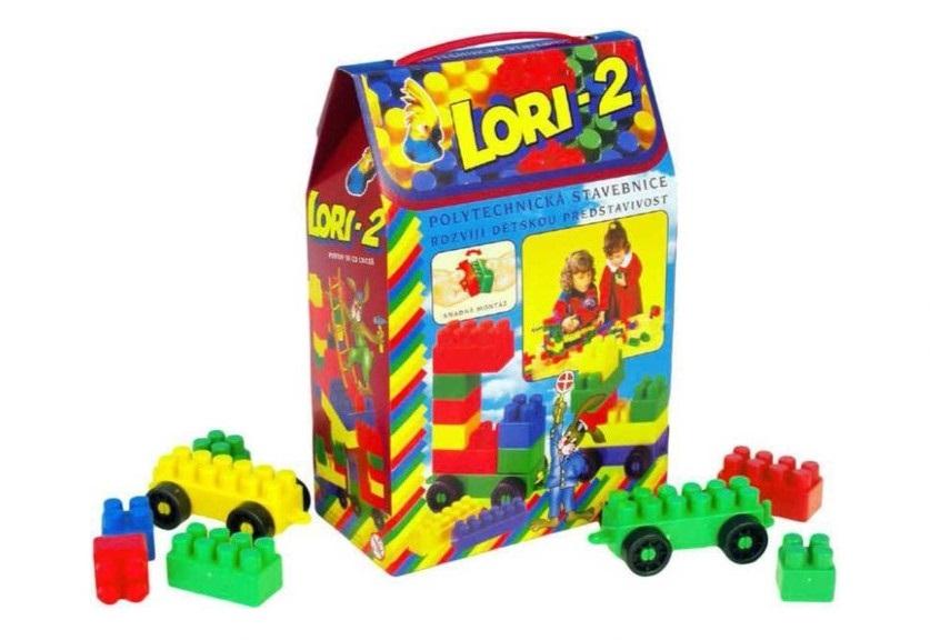 LORI TOYS - Stavebnice Lori 2