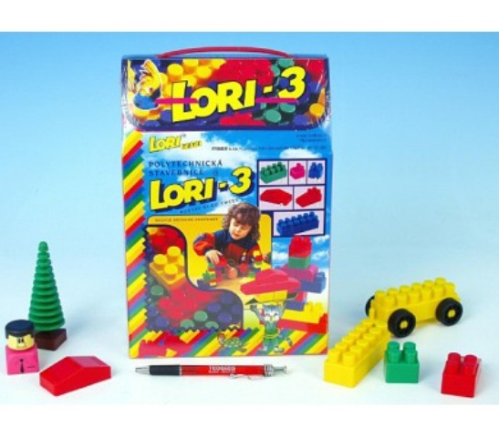 LORI TOYS - Stavebnice Lori 3