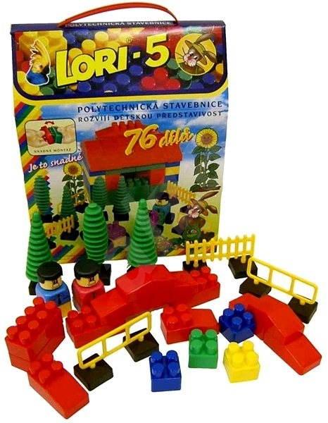 LORI TOYS - Stavebnice Lori 5
