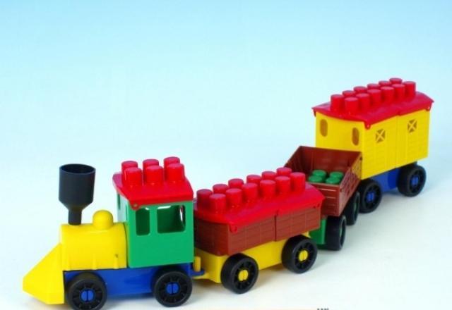 LORI TOYS - Stavebnice lori 6 - Nákladní vlak