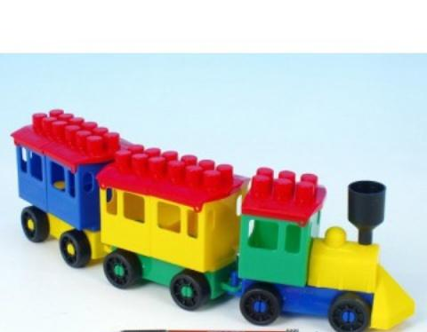 LORI TOYS - Stavebnice Lori 7 - malý vlak