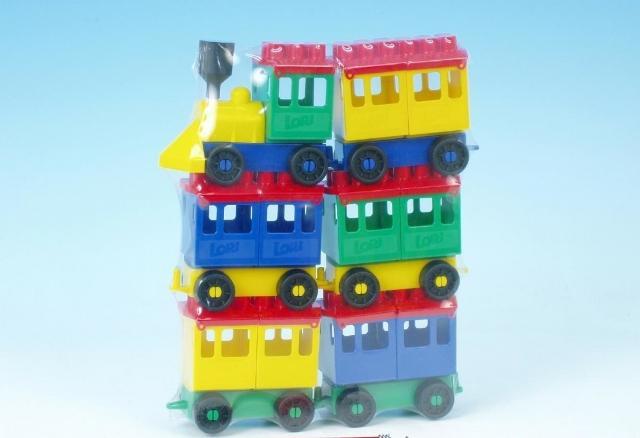 LORI TOYS - Stavebnice Lori 8 - velký vlak