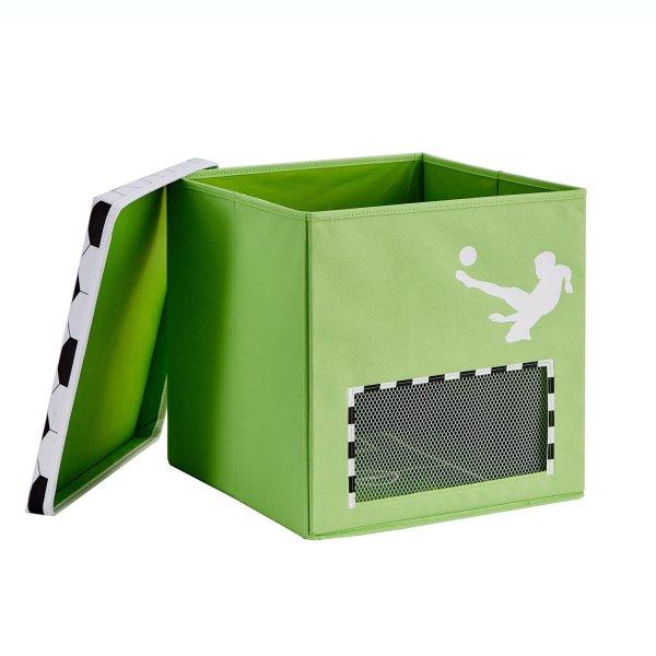 STORE IT - Box na hračky s krytem - Fotbal, Goooal, velký