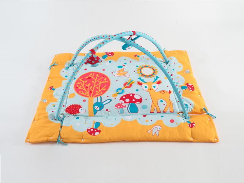 Hrací deka s hrazdou Králík