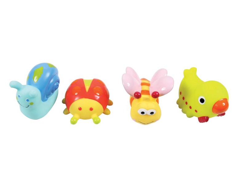 LUDI - Hračky do vody zvířátka z louky 4ks