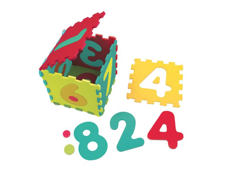 LUDI - Puzzle pěnové 143x48 cm čísla