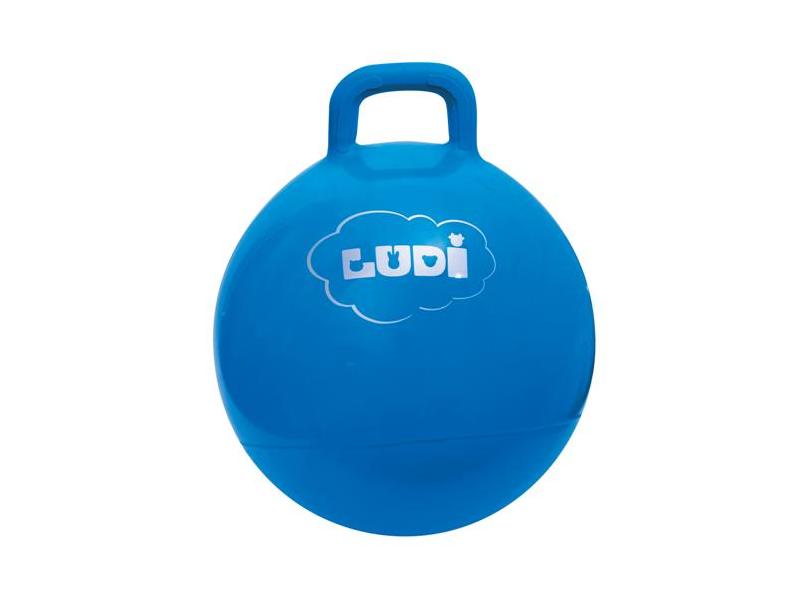 LUDI - Skákací míč 45cm modrá