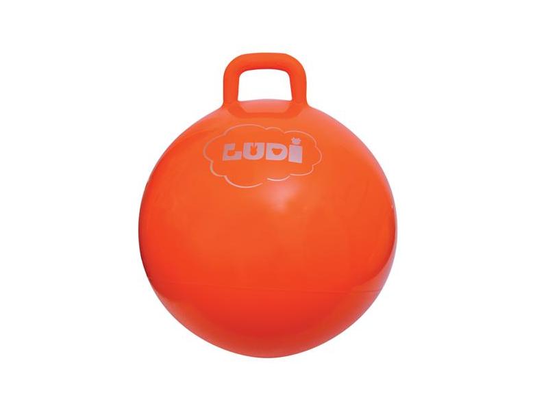 LUDI - Skákací míč 55cm oranžová