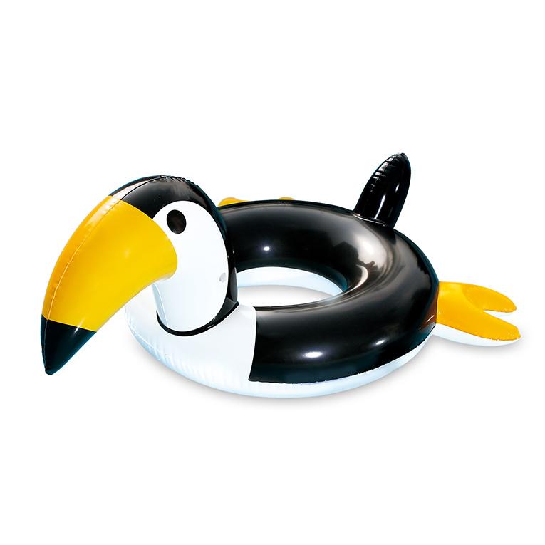 MAC TOYS - nafukovací kruh na plavání tukan
