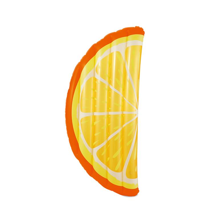 MAC TOYS - Nafukovací Lehátko ve tvaru pomeranče