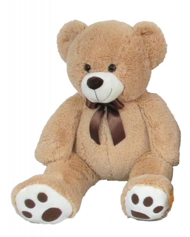 MAC TOYS - Plyšový Medvídek 60 Cm, Béžový