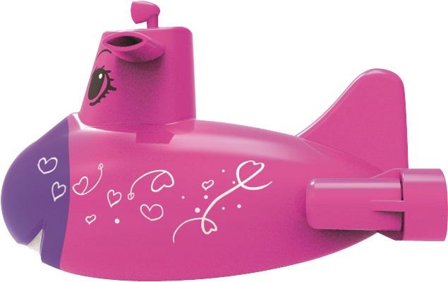 MAC TOYS - Ponorka růžová MAC TOYS
