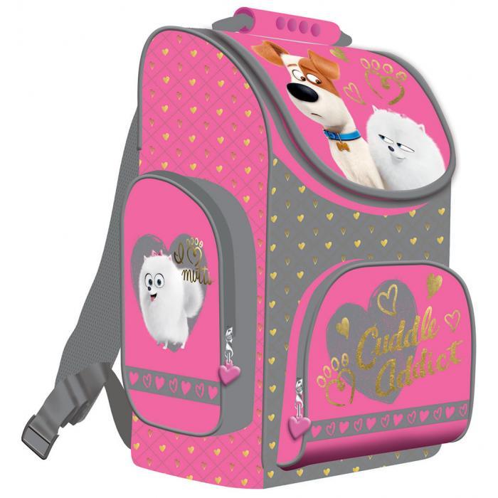 MAJEWSKI - Školní batoh Tajný život mazlíčků - pro holky
