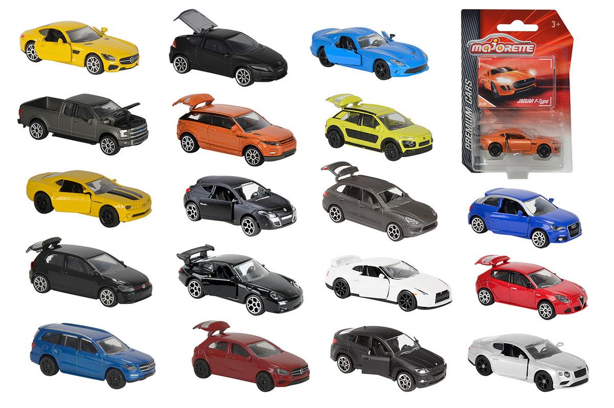 MAJORETTE - Autíčko Kovové Premium Cars, 18 Druhů