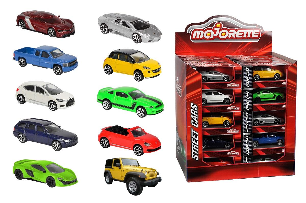 MAJORETTE - Autíčko Kovové Street Cars, Dp40, 10 Druhů
