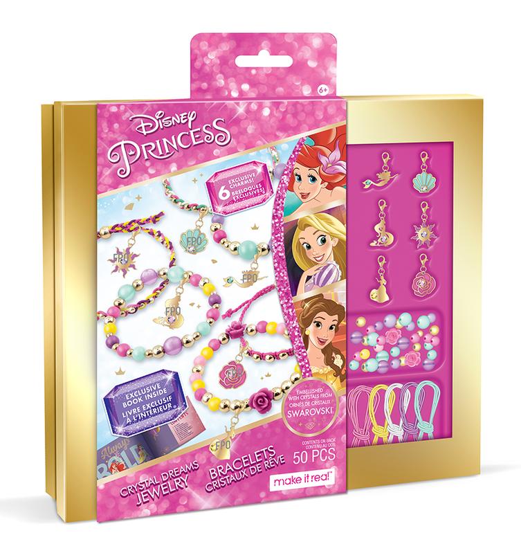 MAKE IT REAL - Výroba náramku Disney Princess Swarovski