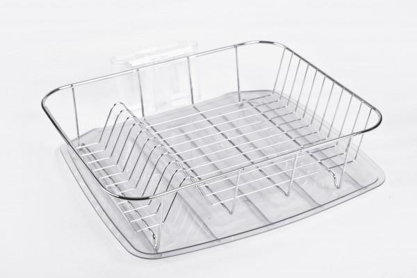 MAKRO - Chromový odkapávač s plastovou podložkou