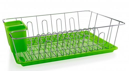 MAKRO - Chromový odkapávač s tácky