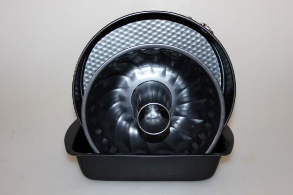 MAKRO - Forma na pečení 3 ks 22cm, 26cm, 28cm