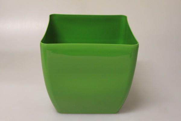 MAKRO - Květináč hranatý COUBI 24cm zelený