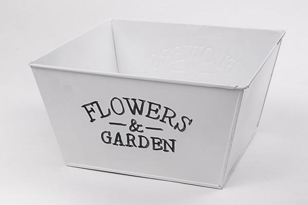 MAKRO - Květináč 22x22x11,5cm