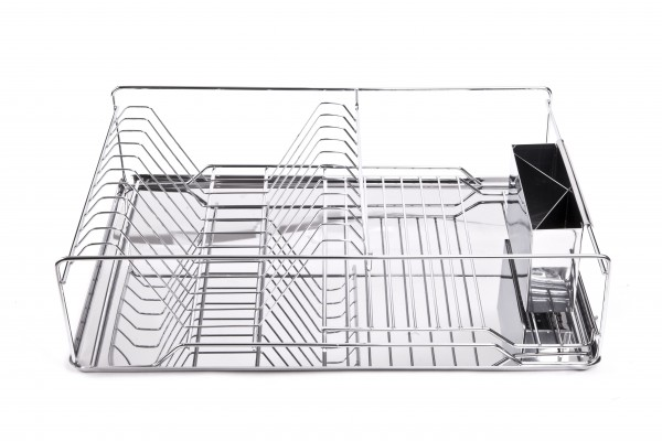 MAKRO - Odkapávač na nádobí, chróm a nerez