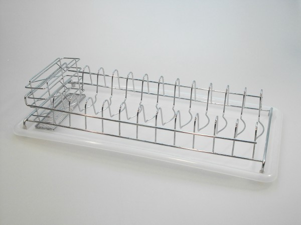 MAKRO - Odkapávač na riad s podnosem, 9 x 25 x 50 cm