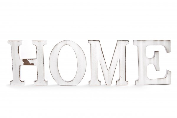 """MAKRO - Písmena """"HOME"""" 15x13x1,8cm"""