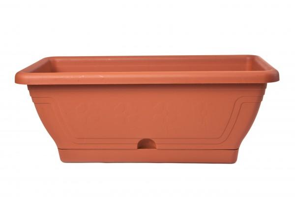 MAKRO - Plastový truhlík + podložka 40 cm, 6 l