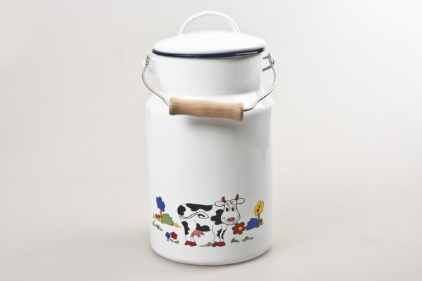 MAKRO - Smaltovaná konvice na mléko 5 l