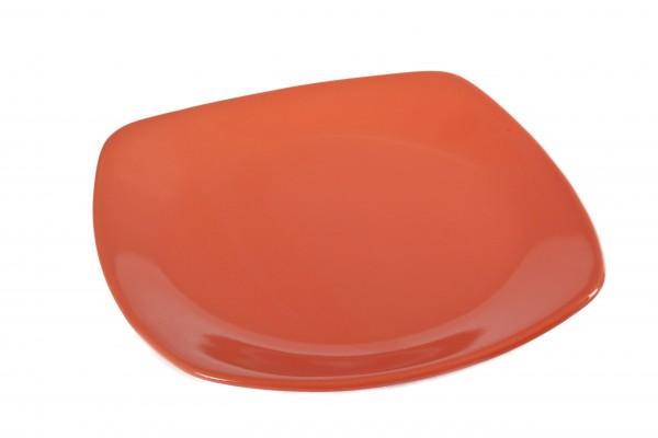 MAKRO - Talíř plytký 24cm oranžový