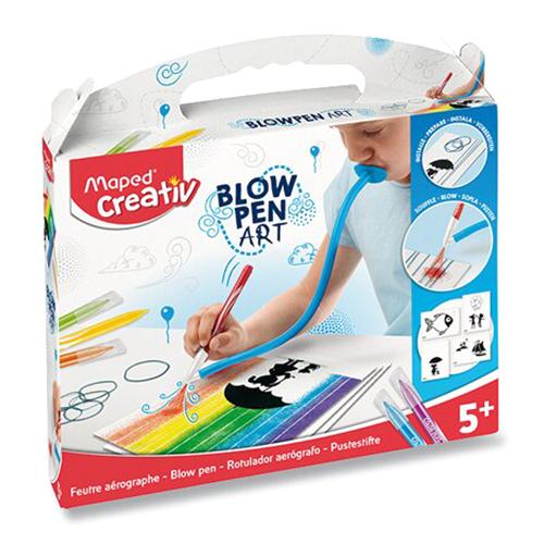 MAPED - Kreativní sada CREATIV Blowpen String Art, sada 6 ks