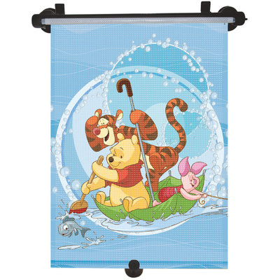 MARKAS - Stínítko na okno auta stahující 1 ks Winnie the Pooh