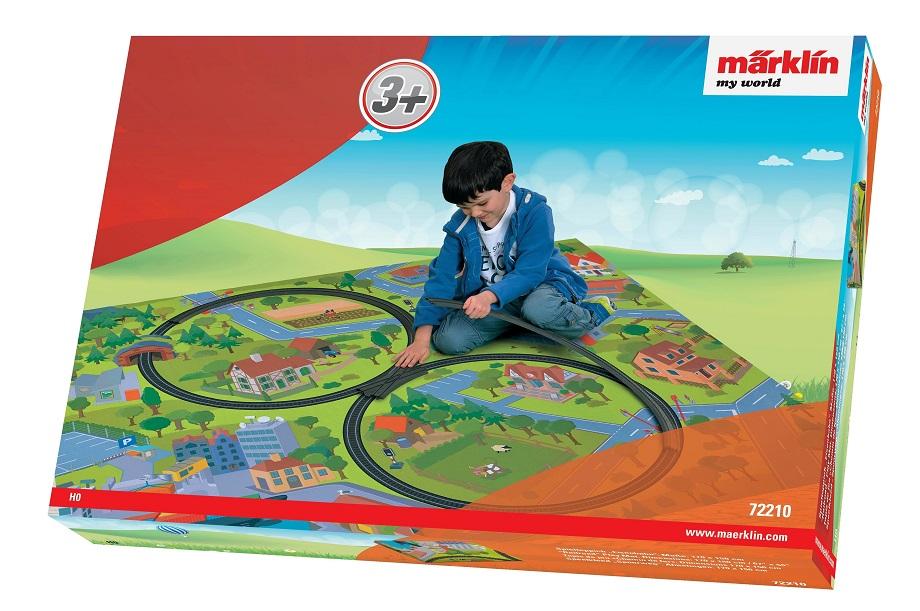 Märklin - MW Hrací koberec železnice 72210