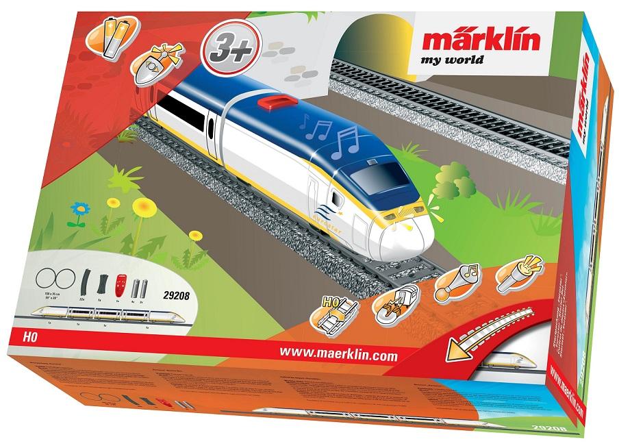 Märklin - MW IRC Vlak Eurostar s kolejnicemi 29208