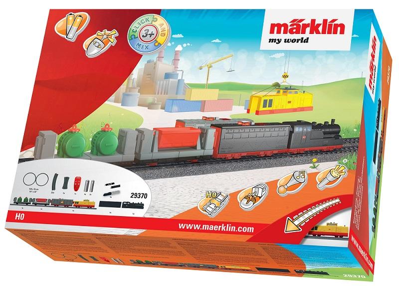 Märklin - MW IRC Vlak nákladní s kolejnicemi 29370