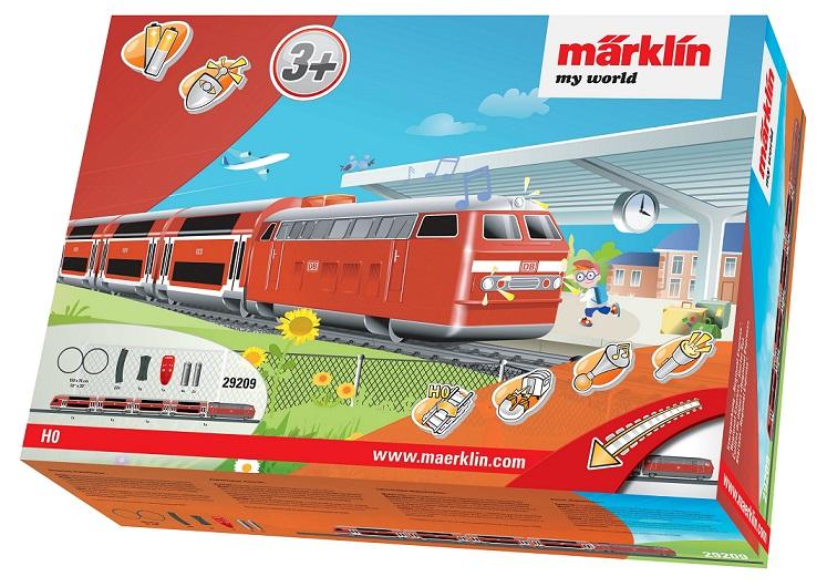 Märklin - MW IRC Vlak Regional Express s kolejnicemi 29209