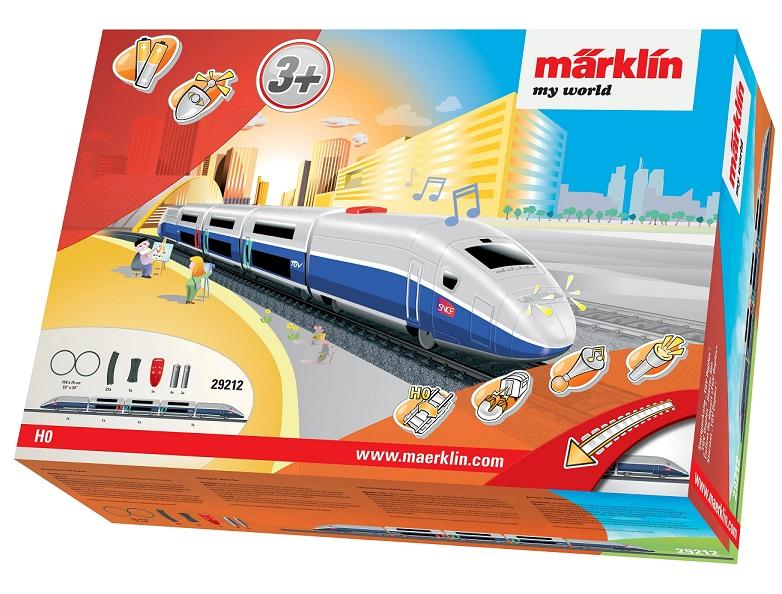 Märklin - MW IRC Vlak TGV Duplex s kolejnicemi 29212