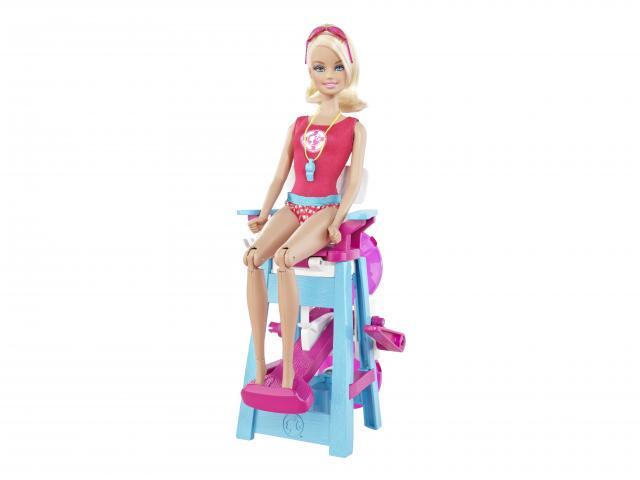 Mattel - Panenka Barbie Záchranářka