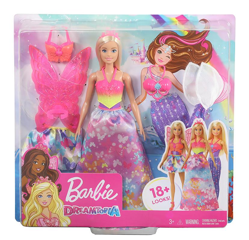 MATTEL - Barbie Panenka A Pohádkové Doplňky