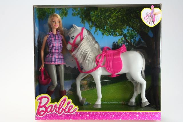MATTEL - Barbie panenka s koněm