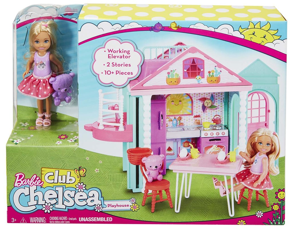 MATTEL - Barbie Chelsea A Domeček