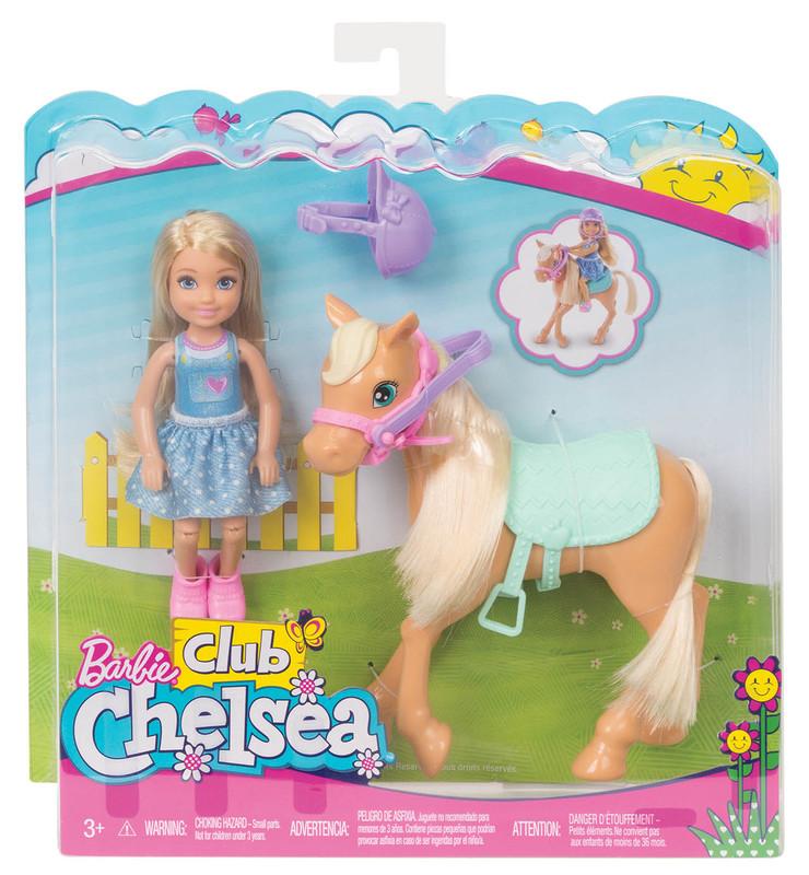 MATTEL - Barbie Chelsea A Poník