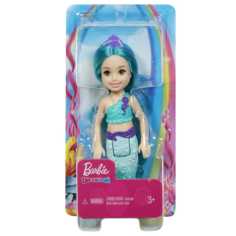 MATTEL - Barbie Chelsea Mořská Panna, Mix Produktů