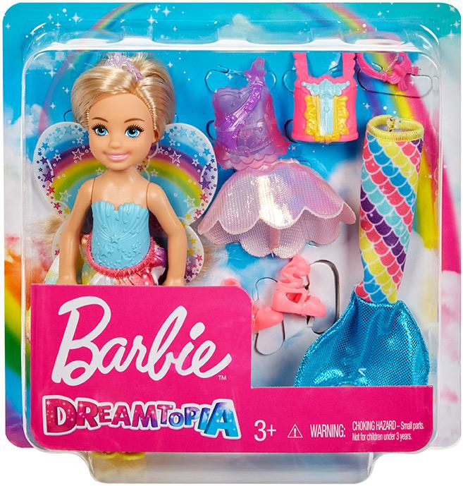 MATTEL - Barbie Chelsea oblečky a panenka