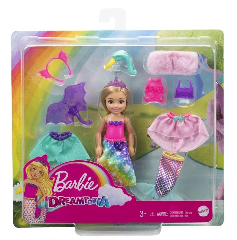 MATTEL - Barbie Chelsea S Oblečky Herní Set