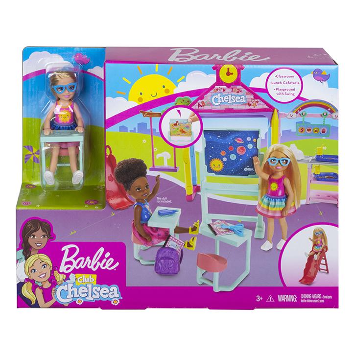 MATTEL - Barbie Chelsea Školička Herní Set