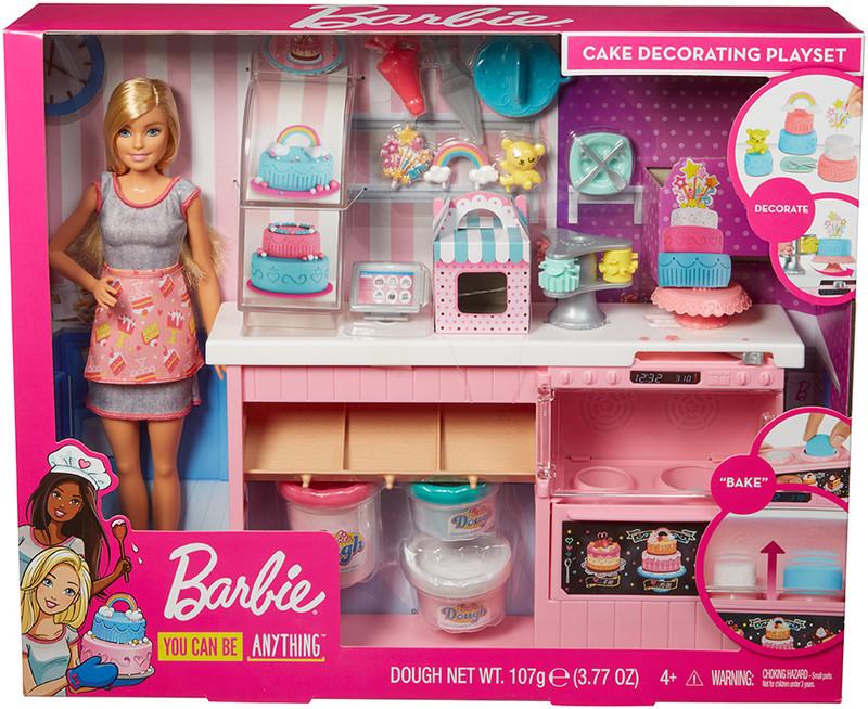 MATTEL - Barbie Cukrářství Herní Set