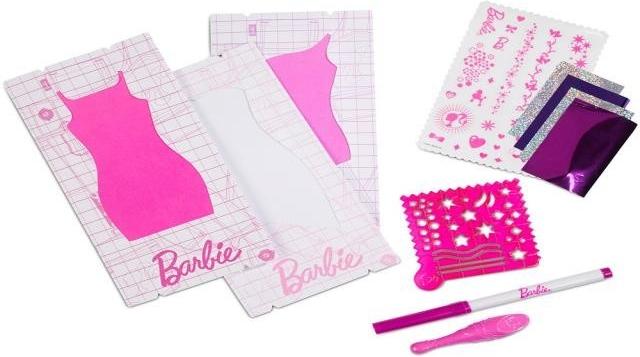 MATTEL - Barbie Design Studio Doplňky , Mix Produktů