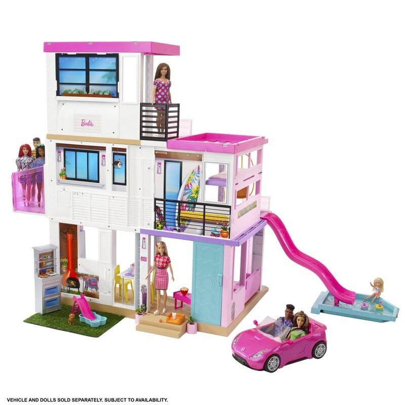 MATTEL - Barbie Dům Snů Se Světly A Zvuky
